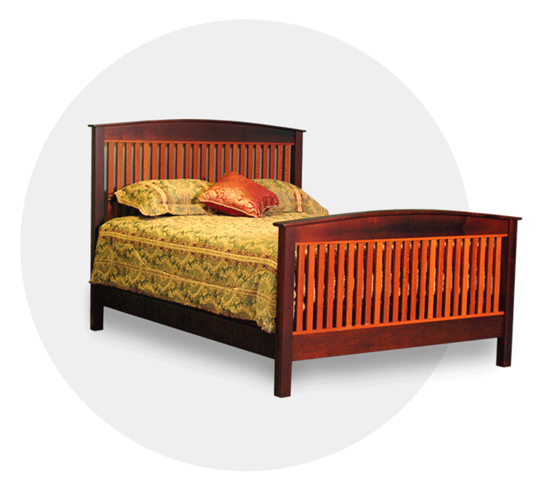 crown bed wooden bed frames