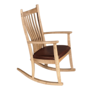 Western Maple Wood Classic Wood Rocker