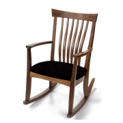 Walnut Classic Wood Rocker