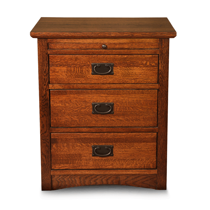 3 Drawer Nightstand Solid Wood Nightstands Robinson Clark