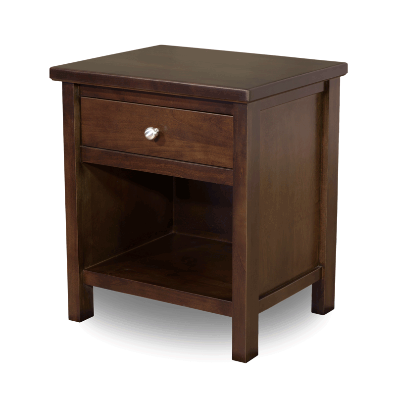 1 drawer nightstand solid wood nightstands robinson clark - Pictures of nightstands ...