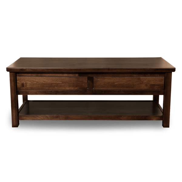 - Mission Style Coffee Table - Wood Coffee Tables Robinson Clark