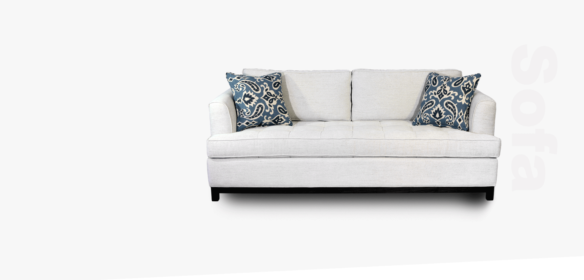 Solid Wood Frame Upholstered sofa