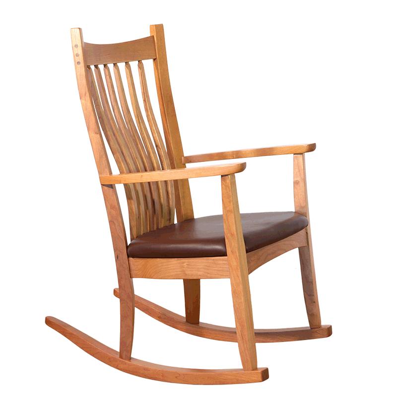 Sensational Wooden Rocking Chairs Classic Wood Rocker Robinson Clark Unemploymentrelief Wooden Chair Designs For Living Room Unemploymentrelieforg
