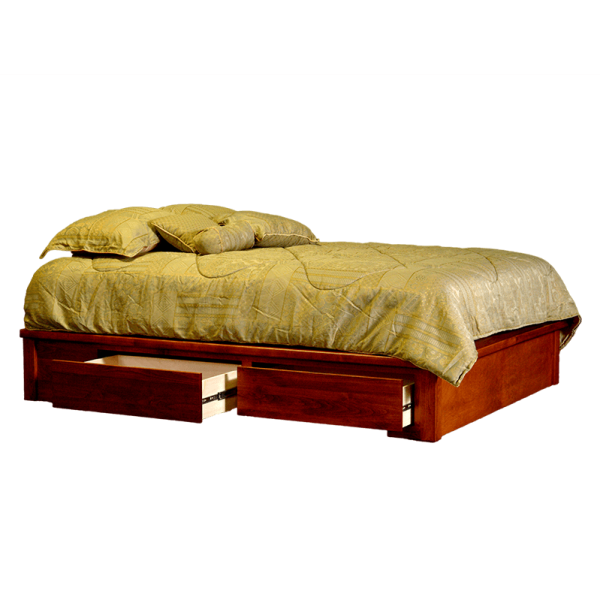 captain's platform bed
